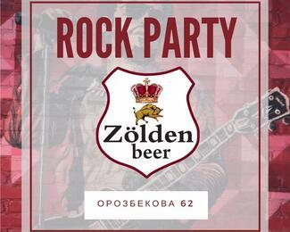 Rock party в пабе Zolden beer
