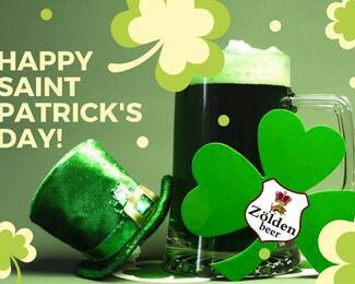 Happy Saint Patrics day в пабе Zölden Beer