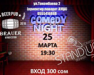 Comedy Night в пабе Brauer