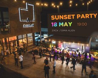 Sunset Party в «Асанбай» центре