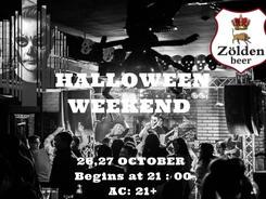 Haloween Weekend в Zolden Beer