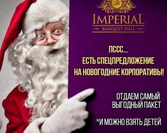 Новогодние корпоративы в ImperiaL
